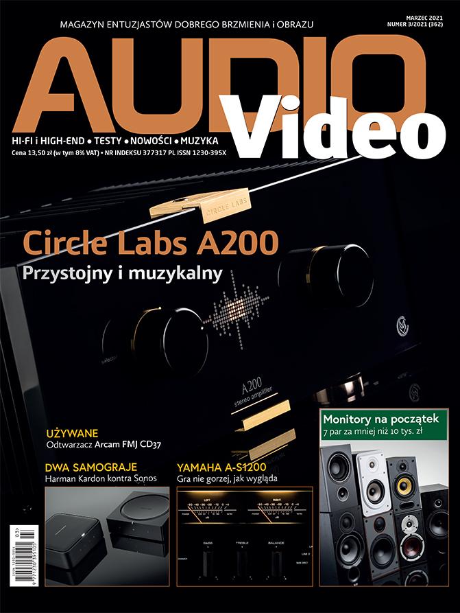 Okładka Audio Video 01/2021